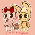 giggles and cuddles