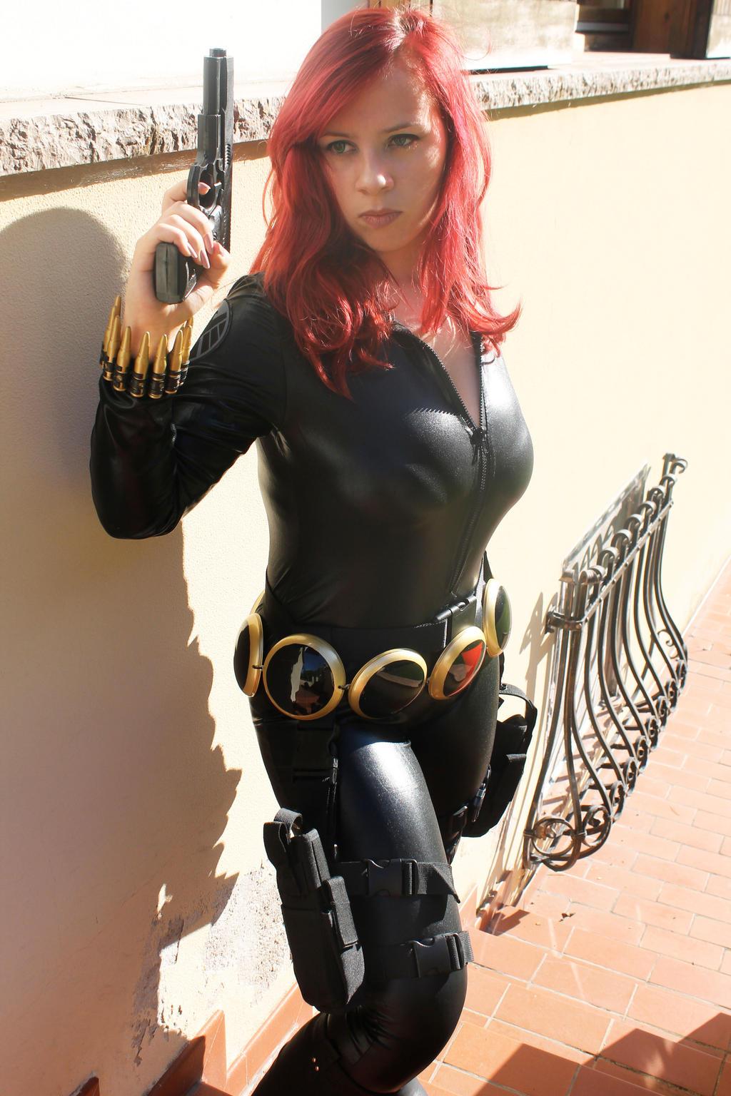 Black Widow comic version by TsunadeGodaimeHokage