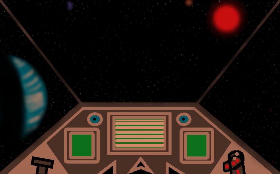 Star Fox Ar-wing Cockpit by fox1432
