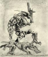 War Machine by DarkPsychosis