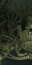 The Beholder - Detail 1 by DarkPsychosis
