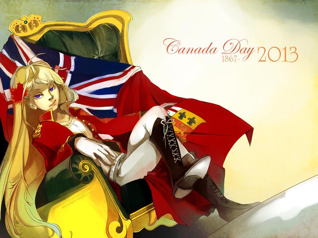 APH - Happy Canada day! by Kittymimi200