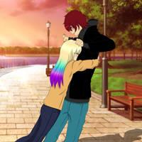 Couple Collab || Itami and Suru by VickiSakurai