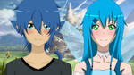 Couple Collab || Akiko and Emiko