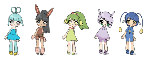 Pokemon Gijinka Adoptables || OPEN [5/5]