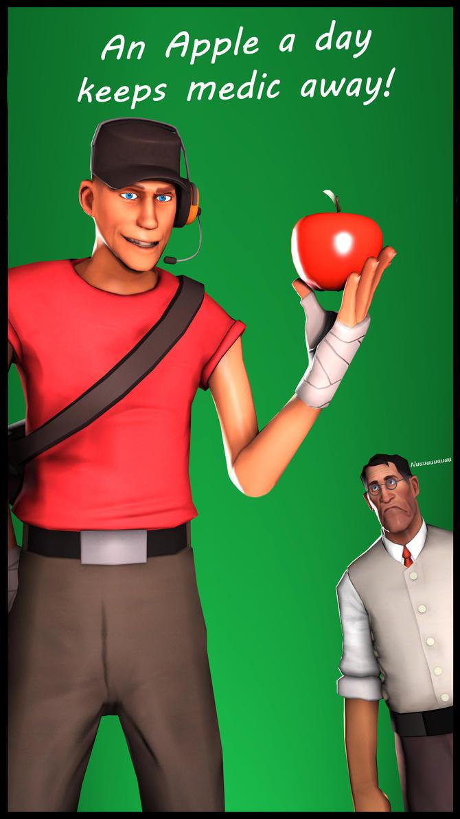 [SFM] An apple by ScAnnReD