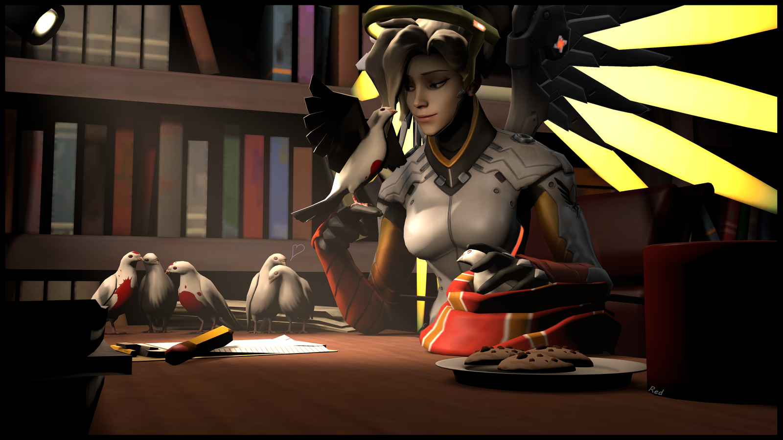 [SFM]Mercy with Archimedeses by ScAnnReD