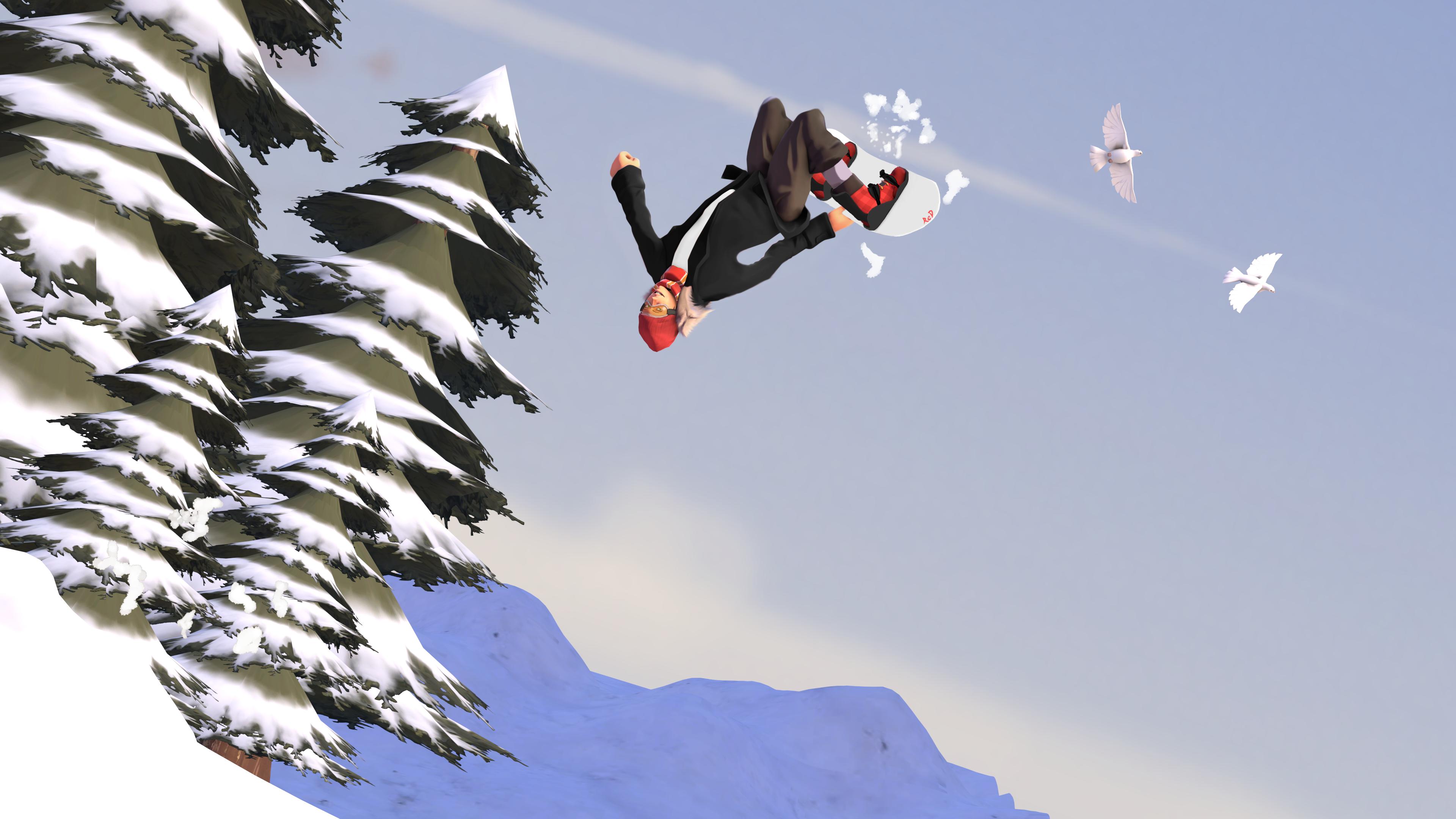 [SFM] Snowboard Girl by ScAnnReD