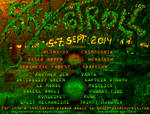 Flyer Skogtroll Forest Gathering 2014 by dunderhonning