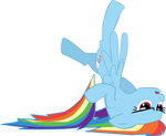 Rainbow Crash Vector by stirfryarcade