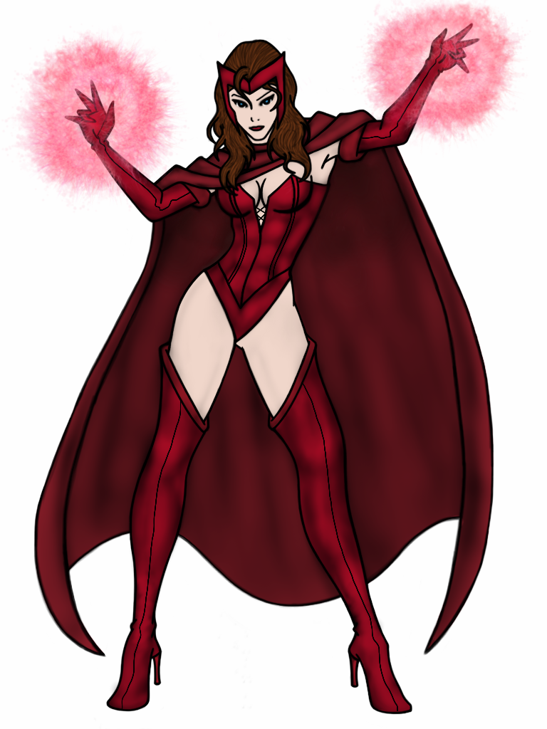 Scarlet Witch by vindications