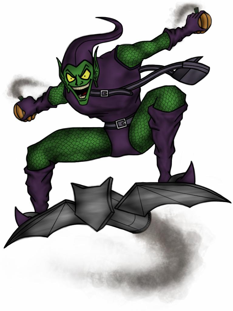 Green Goblin by vindications on DeviantArt