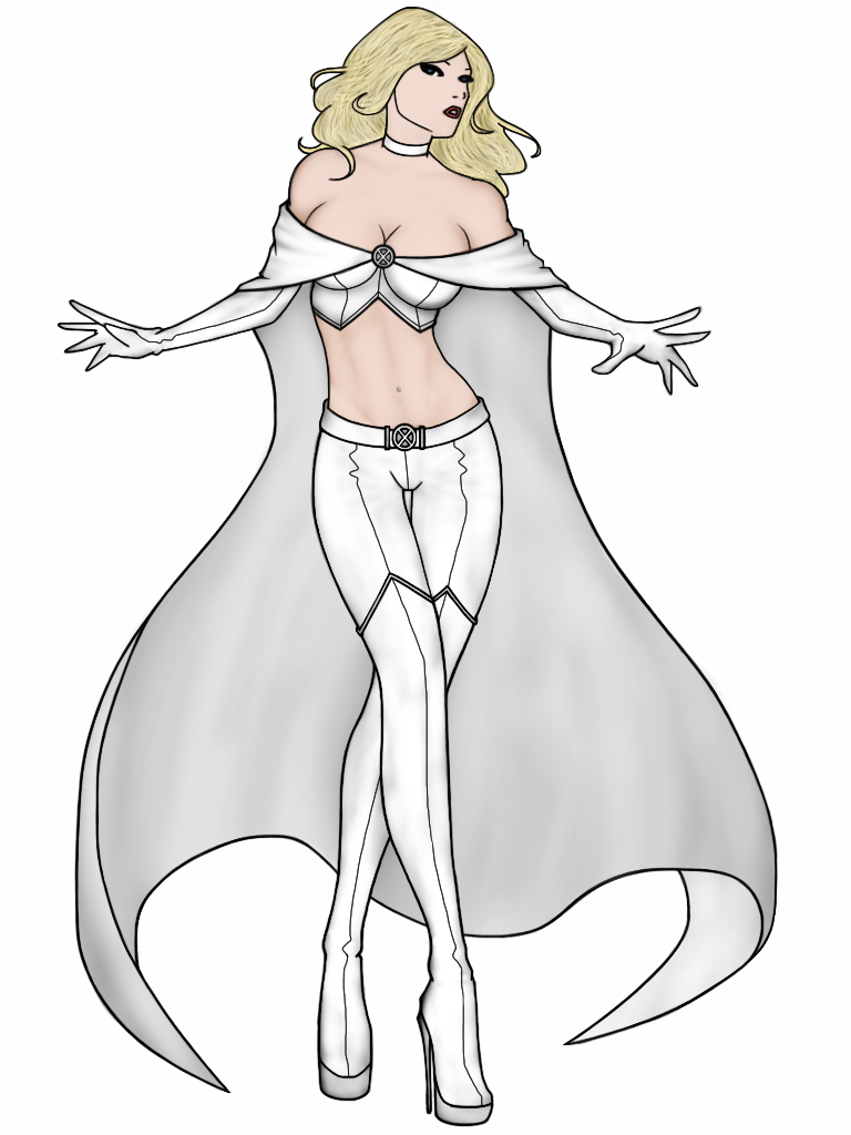 Emma Frost by vindications