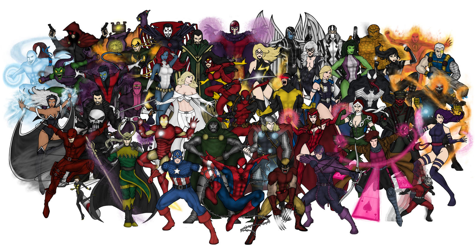 Marvel Malvorlagen Marvel Superhero The Marvel Super: Marvel Super Heroes By Vindications On DeviantArt