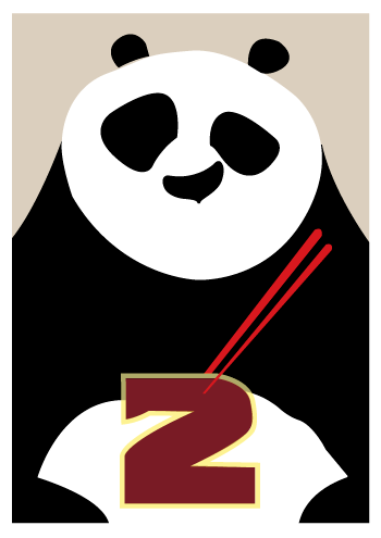 Poster Kung Fu Panda Minimalist By R4cch On Deviantart
