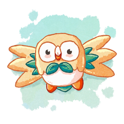 Rowlet pho life by manuee