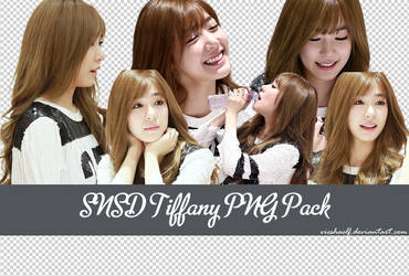 141127 - SNSD Tiffany PNG Pack