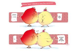 Saint Valentin des poussins