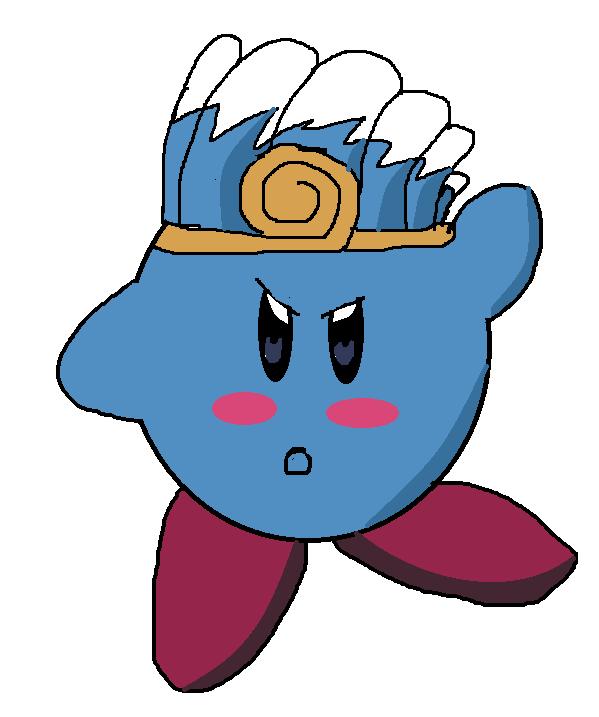 water Kirby by ilovetailsdoll on deviantART