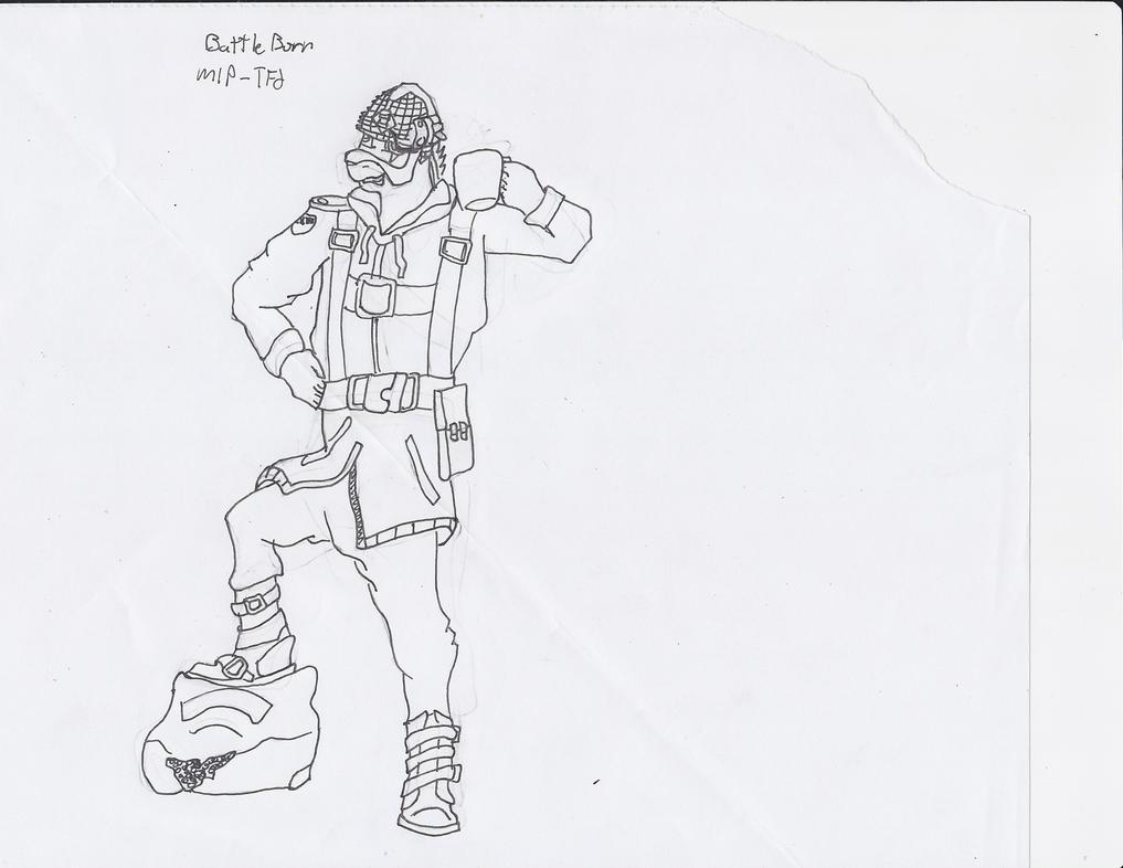 Battleborn Soldier by Kano-20