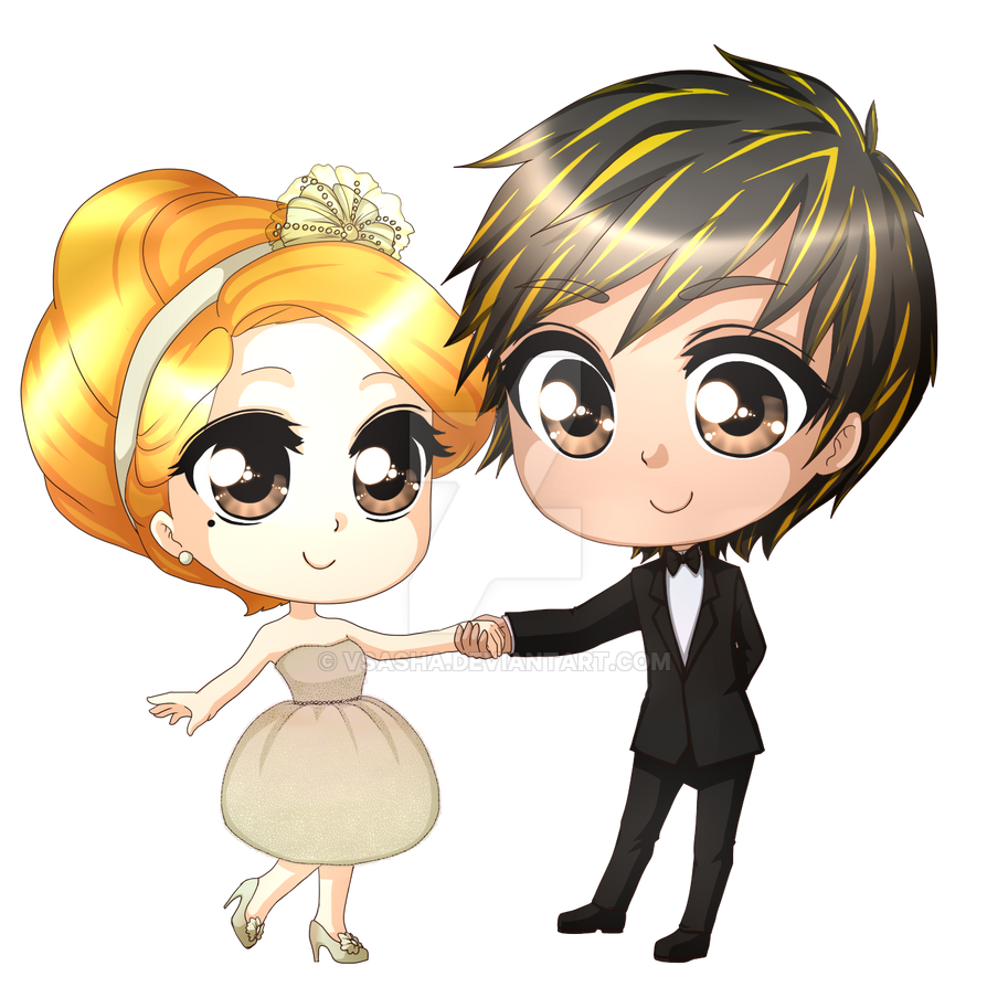 Comm: Wedding Card by VSasha on DeviantArt