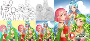 Process steps: Venntris Girls