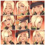 ExpressionSet: Pumpkin Sword