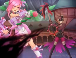Rosa VS Xion