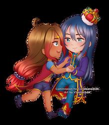 Coraleana and Marcus by VSasha