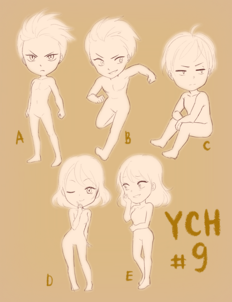 YCH #9 [OPEN 10$ unlimited slots] by VSasha