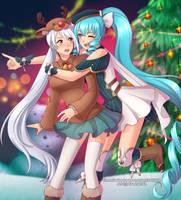Cordelia and Maho by VSasha
