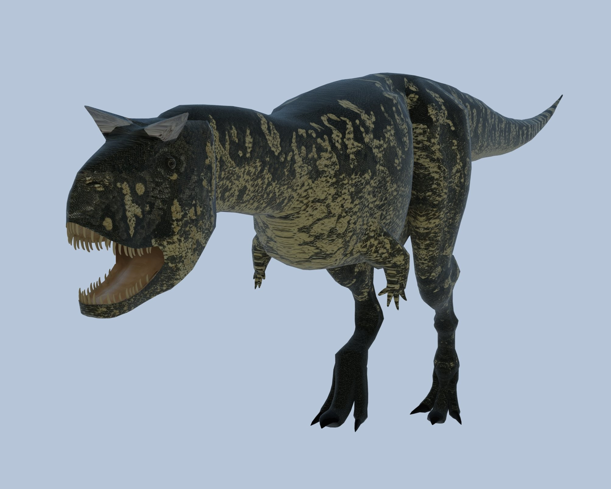Carnotaurus Sketchup+Vray by reminegrest on DeviantArt