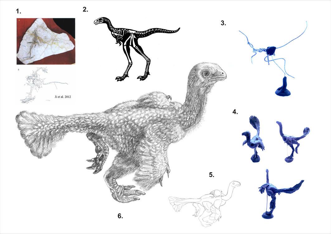 dinosaur illustration step by step by reminegrest on deviantart. Black Bedroom Furniture Sets. Home Design Ideas