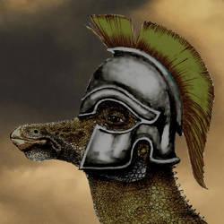 A new corinthian helmet lizard by reminegrest
