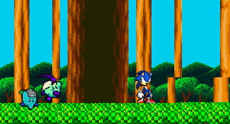Slash and aege vs Sonic (Link in Desc)