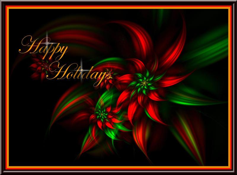 Happy Holidays by tsims533