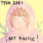 200+ Art Raffle !