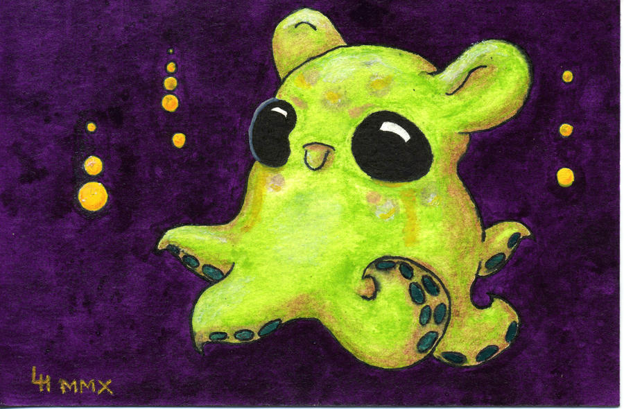 Green Dumbo Octopus By Lindahennessy On Deviantart
