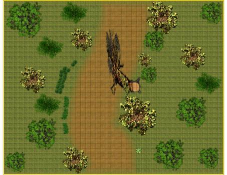 Forest Road Battlemat