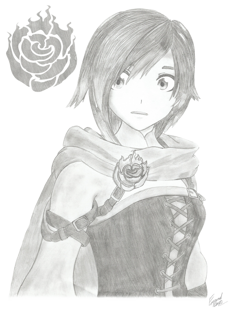 Rwby | Ruby Rose by Emperial-Dawn on DeviantArt The Art Of Getting By Drawings