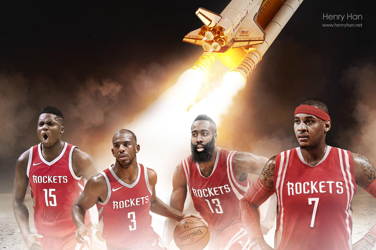Capela added to this Rockets wallpaper!