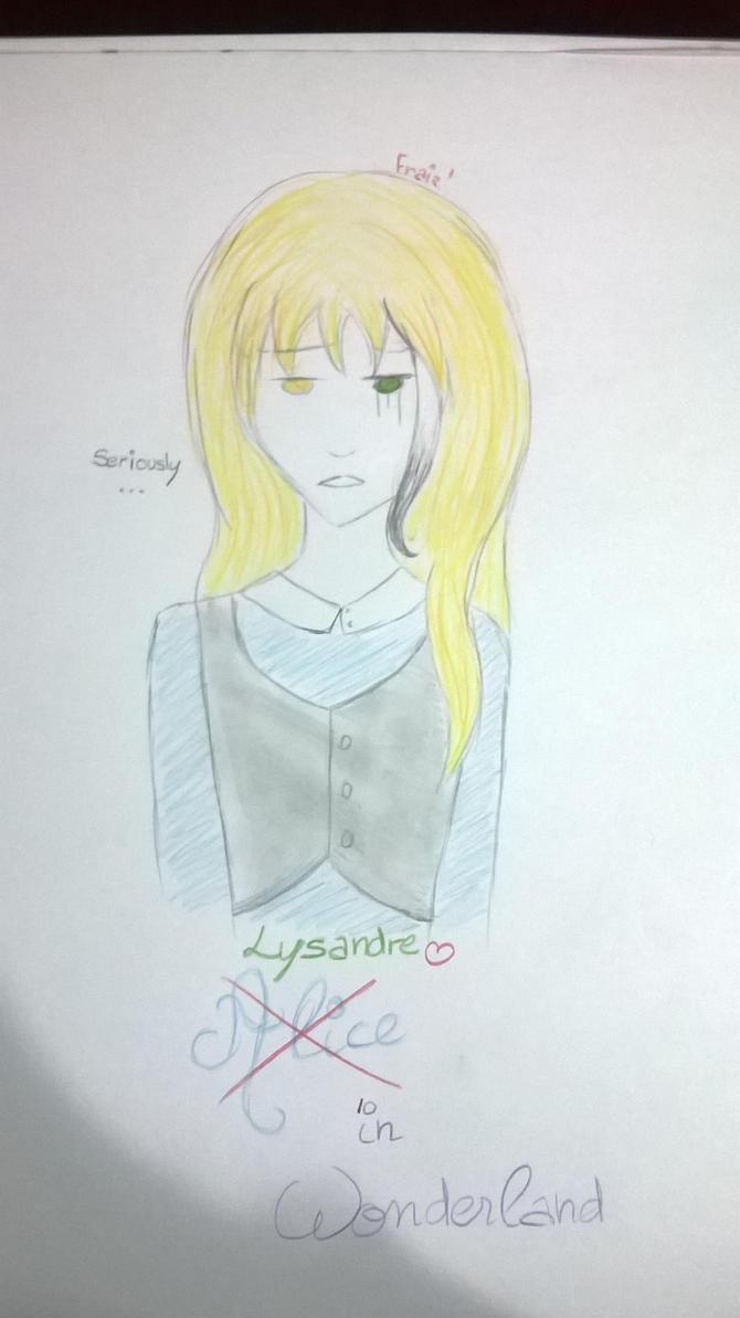 Lysander In Wonderland ~ by FraizySmoothie