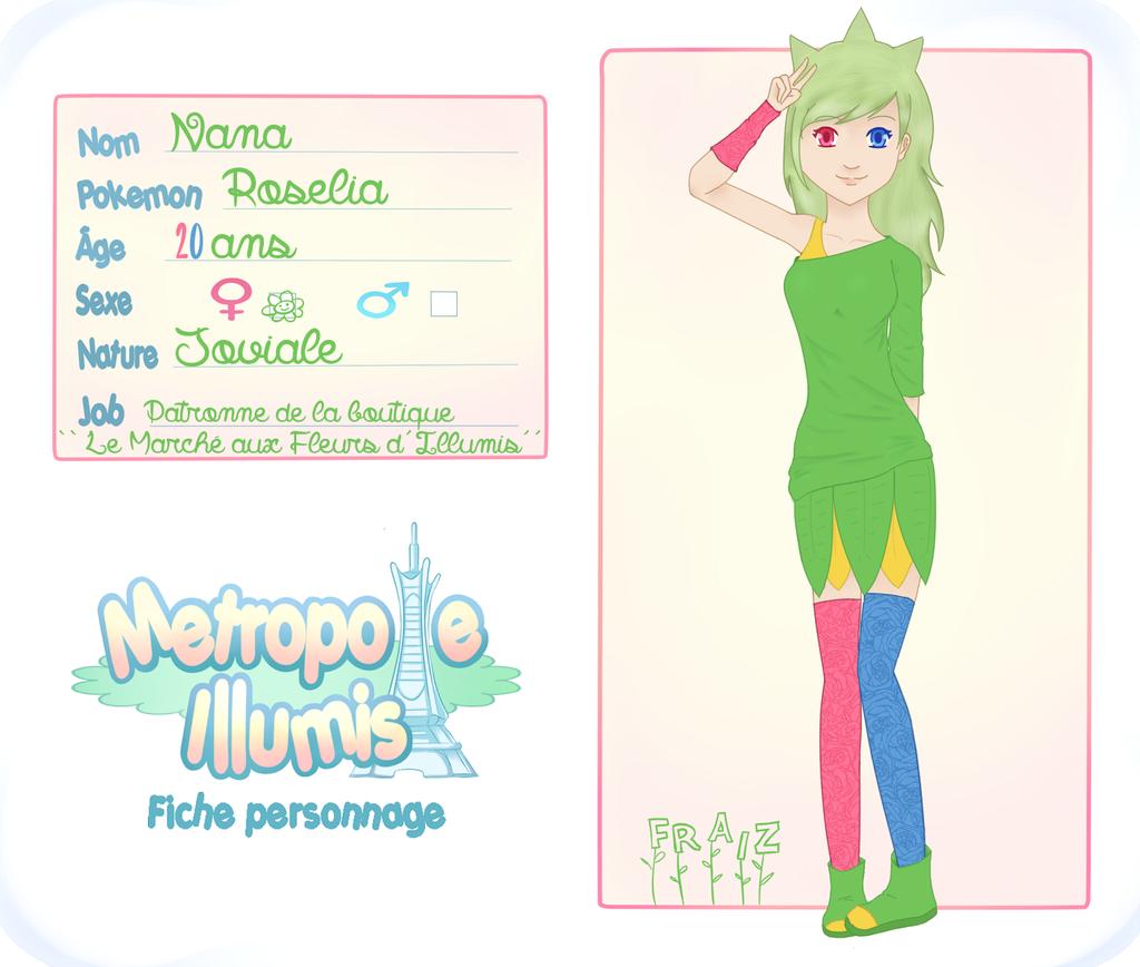 MI - Fiche Personnage: Nana by FraizySmoothie