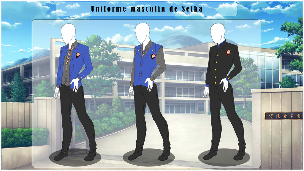 [SS] Uniforme Universitaire - Garcons by FraizySmoothie