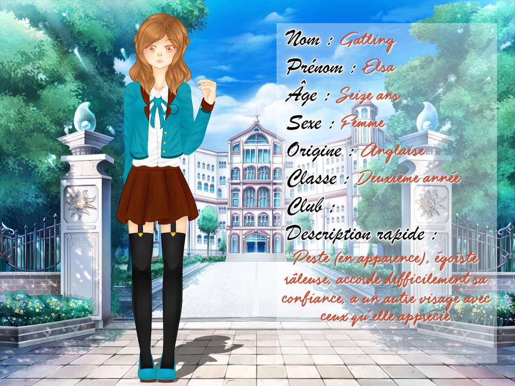 [CS] Fiche Elsa by FraizySmoothie