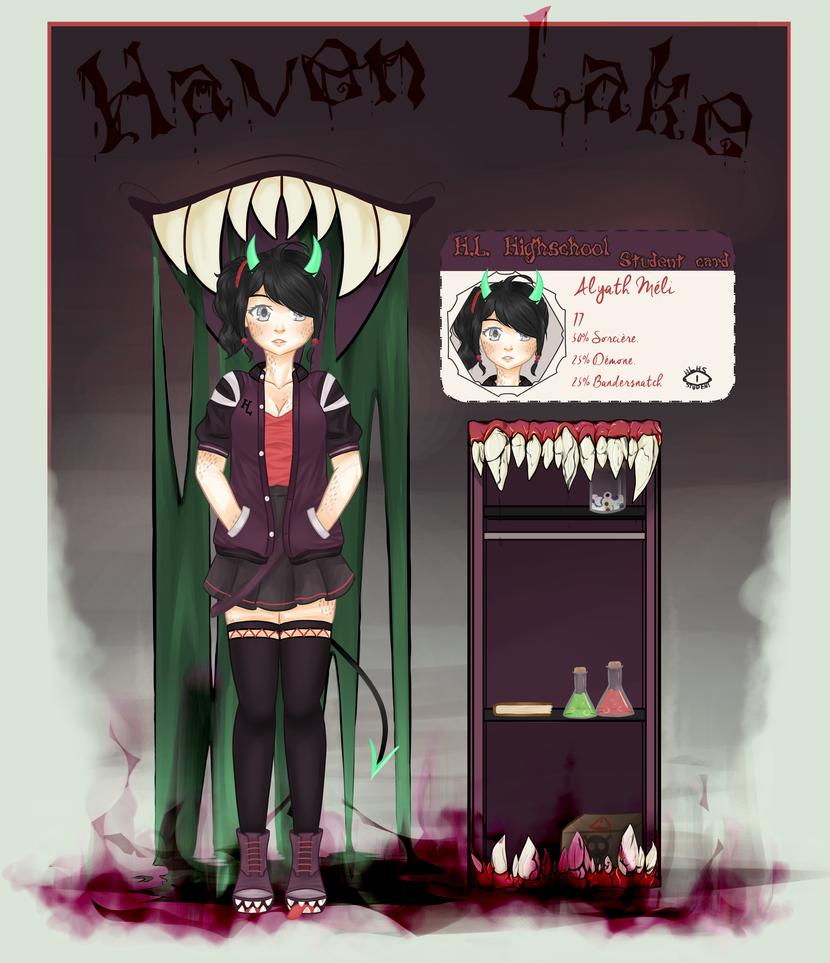 [HLHS] Meli Alyath by FraizySmoothie