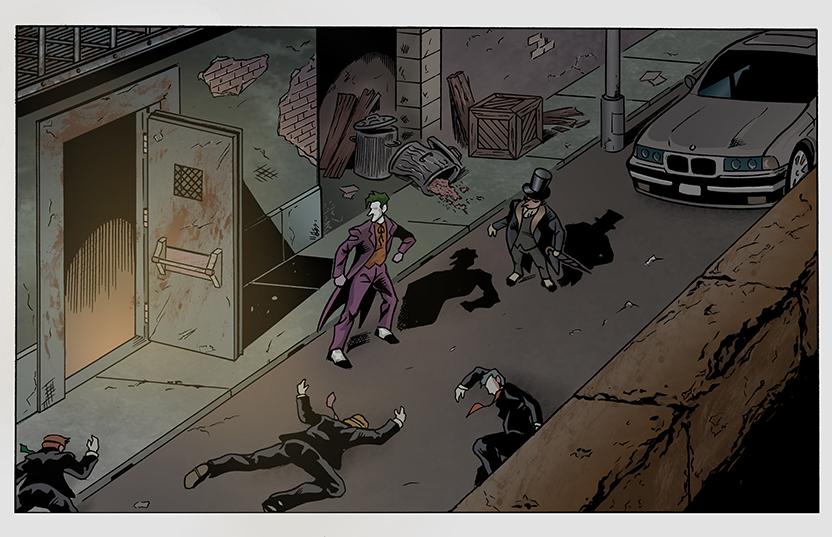 Batman page detail 1 by DarkKnight81