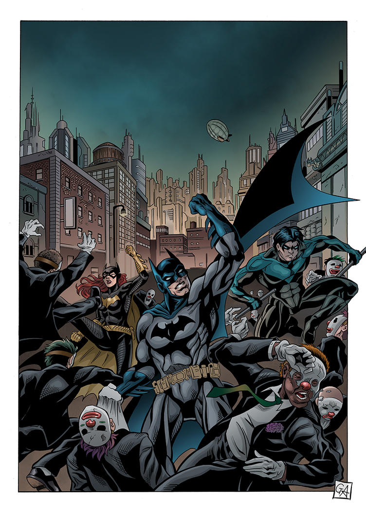Batman page detail 3 by DarkKnight81