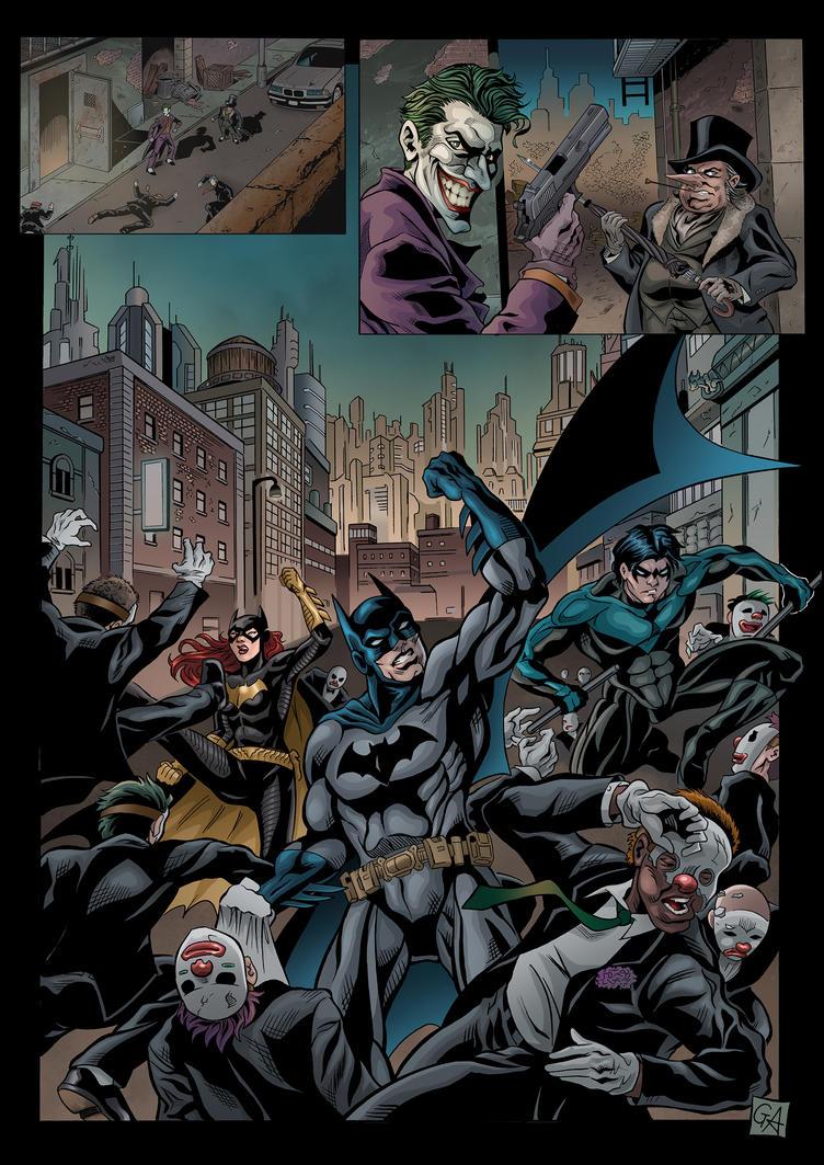 Batman page by DarkKnight81
