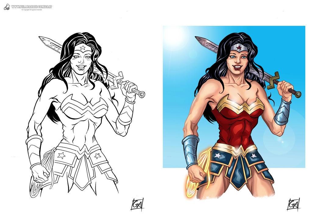 Wonder Woman by DarkKnight81